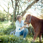 Gill Lewis with pony